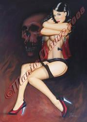 skull by MarioChavez