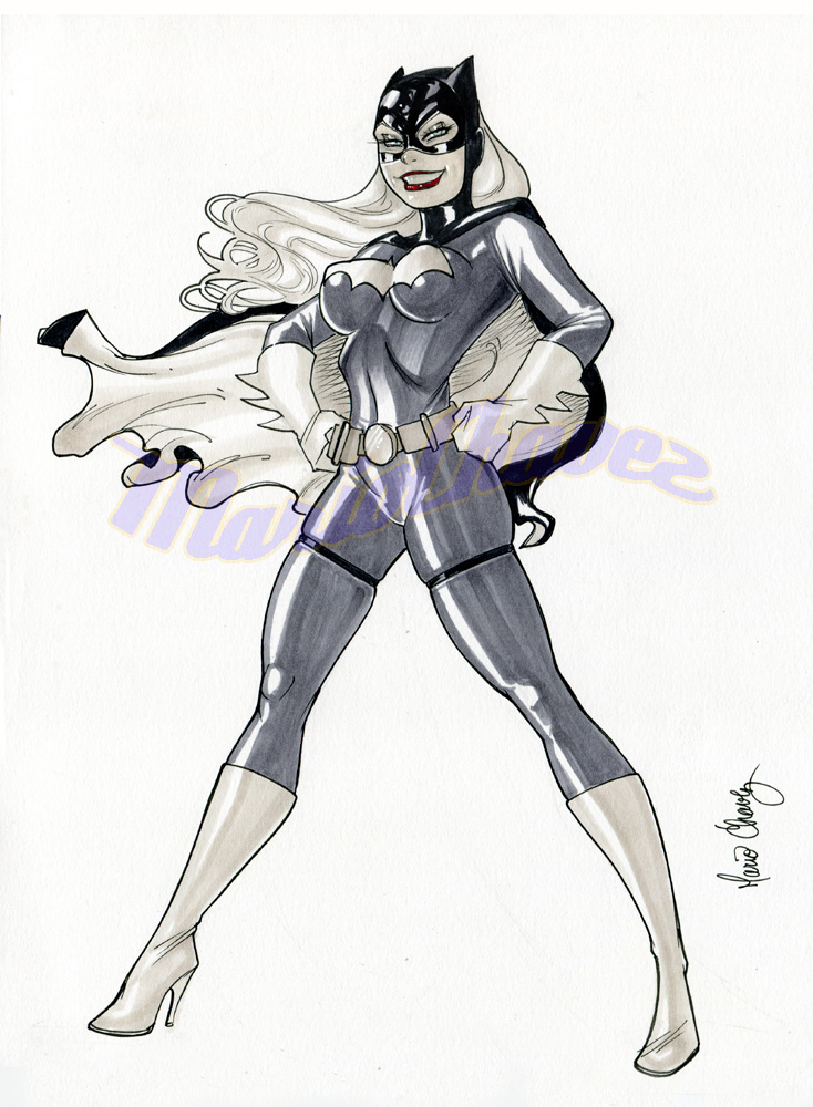 batgirl again by MarioChavez