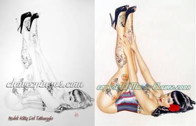 tattoos by MarioChavez