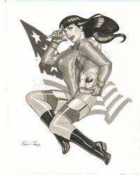 Bettie Rocketeer by MarioChavez