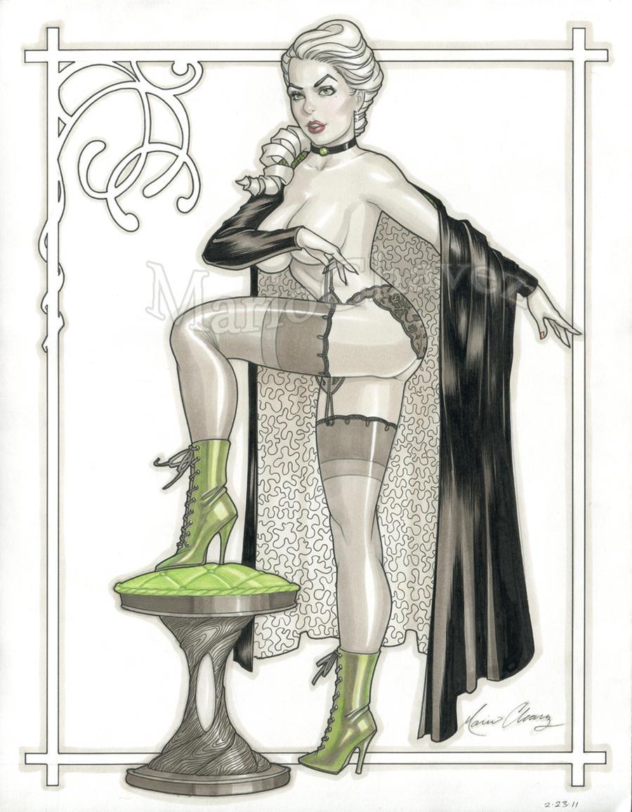 Jeanette Secret Six by MarioChavez