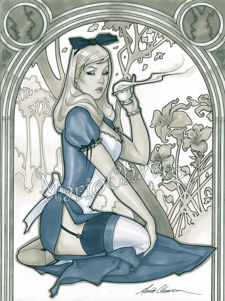 Alice by MarioChavez