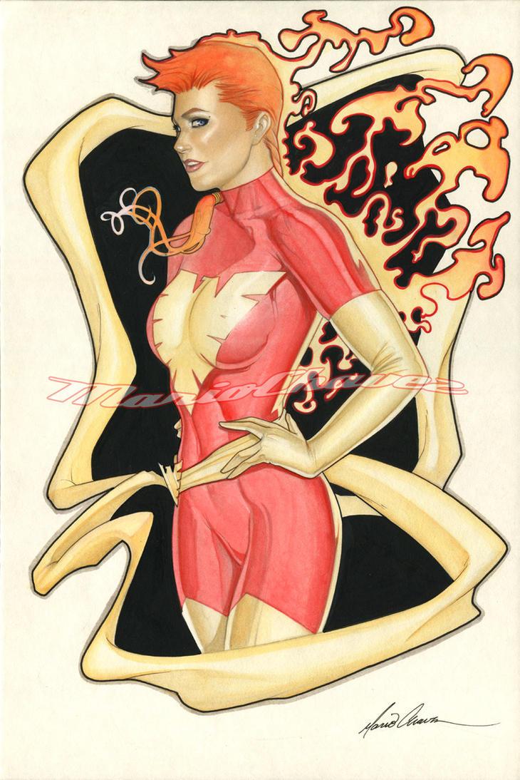 Rachel Phoenix Paint by MarioChavez