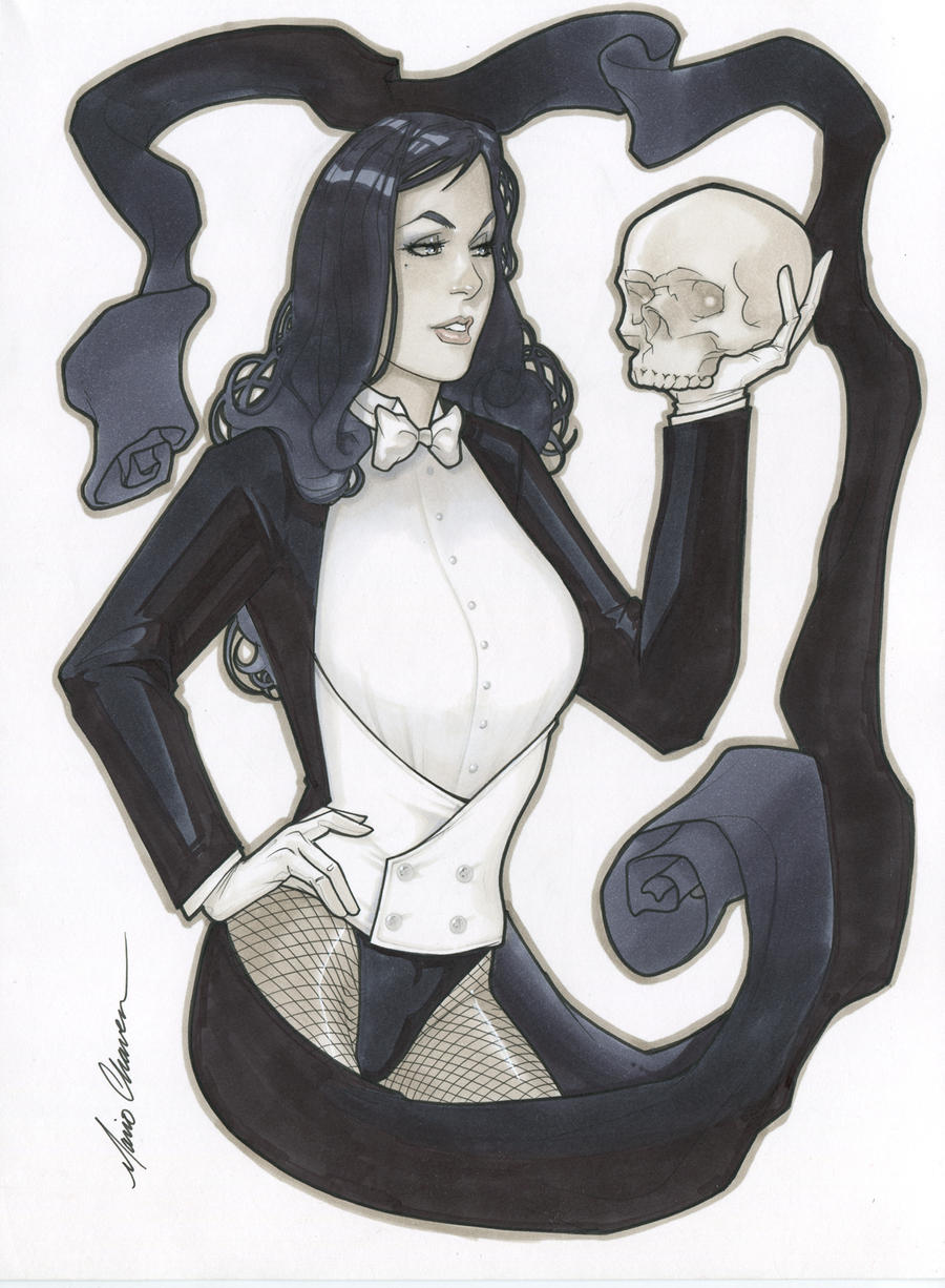 Zatanna Zatara by MarioChavez