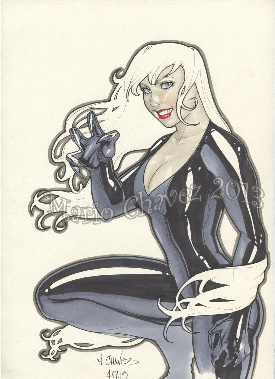 Black cat by MarioChavez