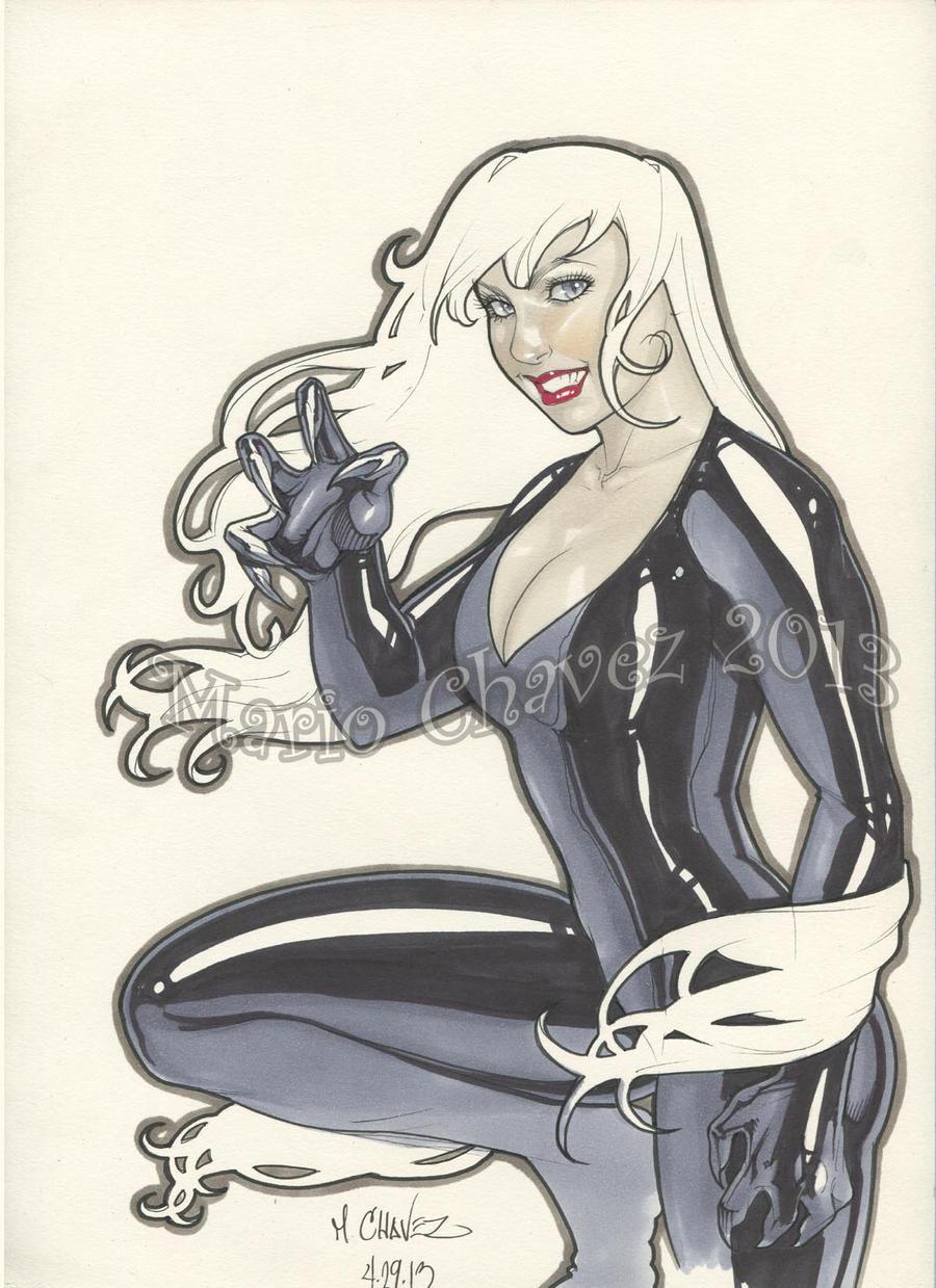 Black cat by MarioChavez