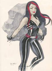 Red She Hulk by MarioChavez