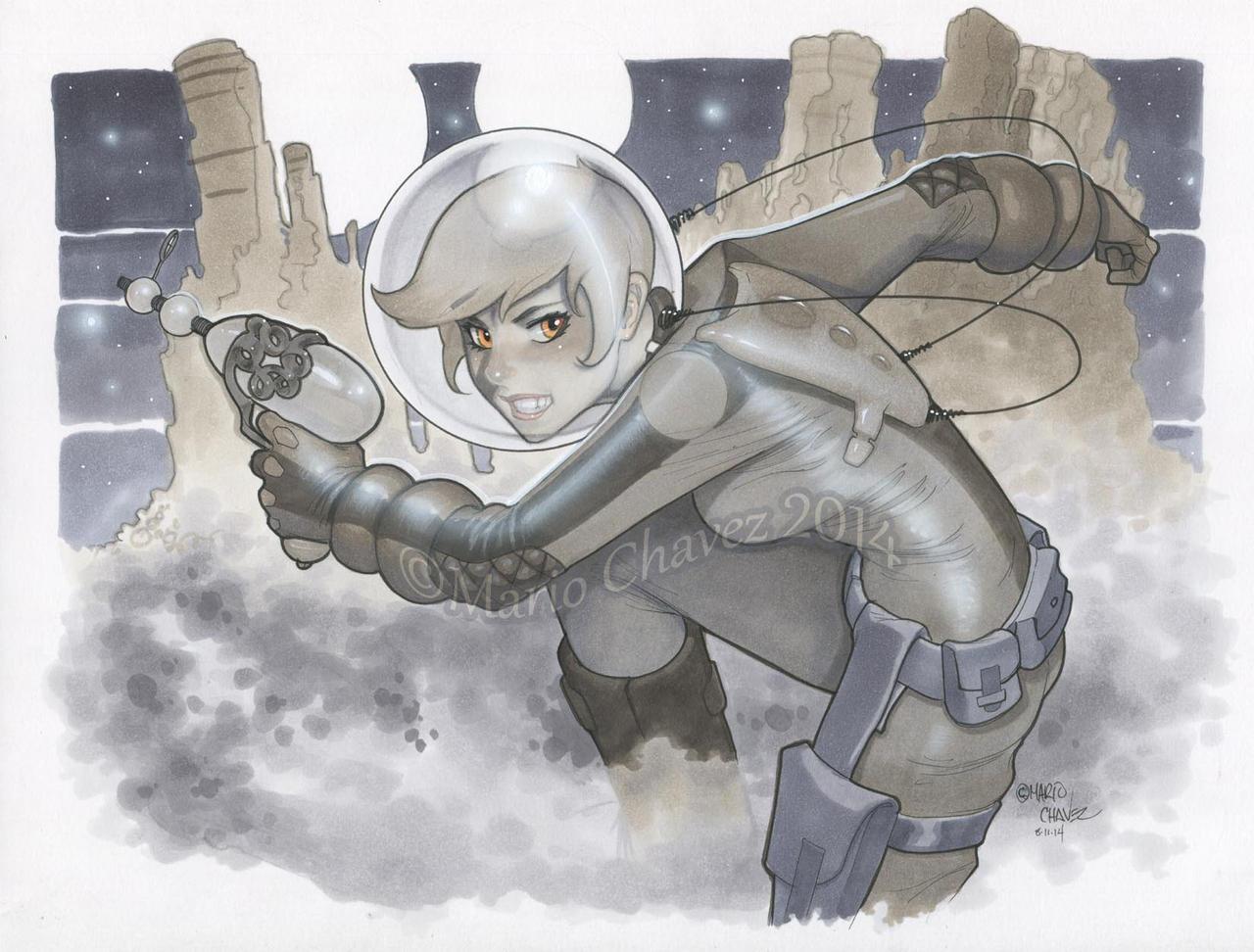 Space Ranger by MarioChavez