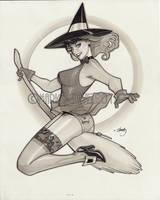 Witchy Witch by MarioChavez