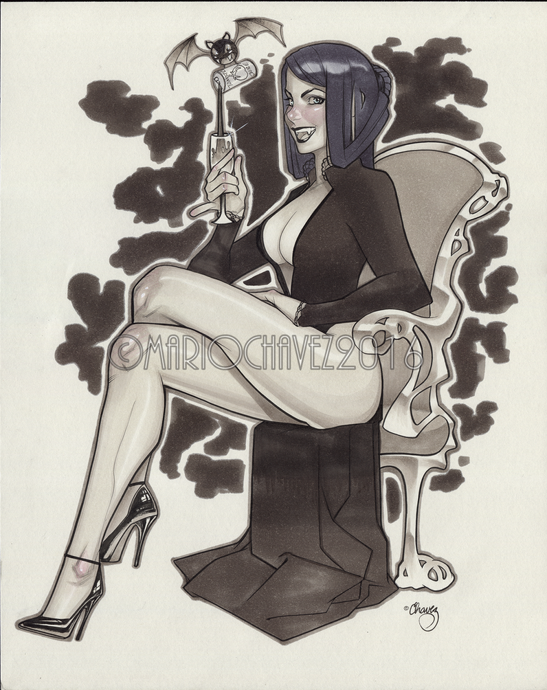 Vampire by MarioChavez