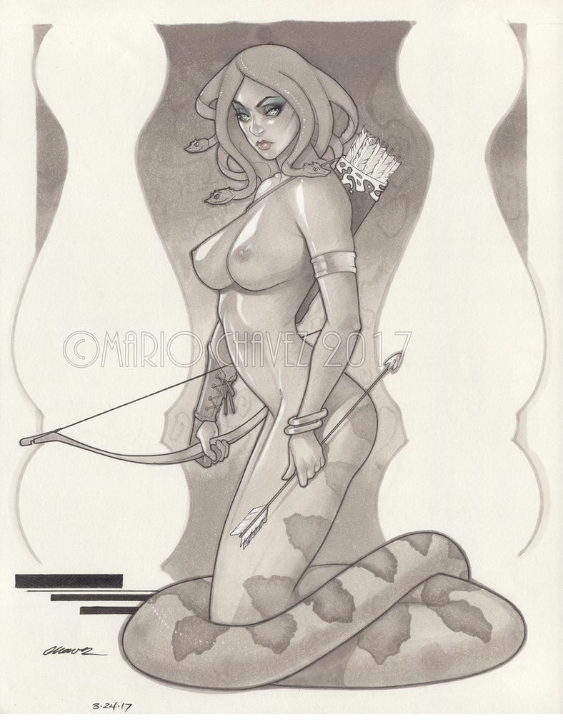 Medusa by MarioChavez