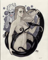 Lil Mermaid by MarioChavez