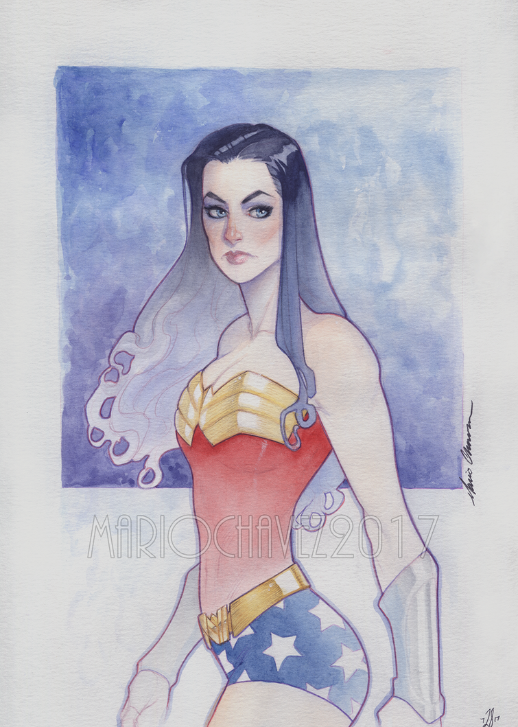 Watercolor Ww by MarioChavez