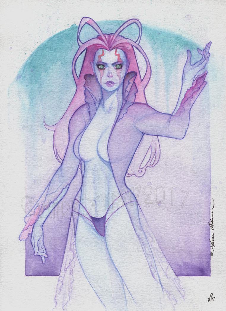 Alien Girl by MarioChavez