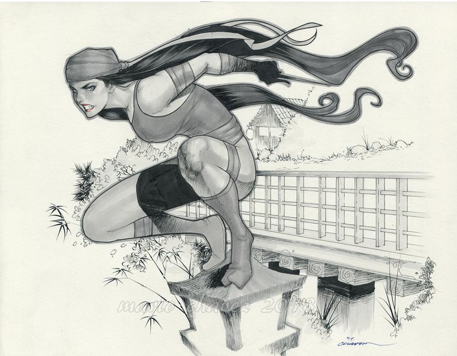 Elektra by MarioChavez