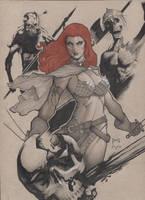 Red Sonja by MarioChavez