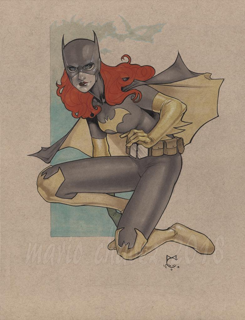 Batgirl1 by MarioChavez