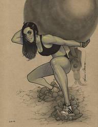 She Hulk by MarioChavez