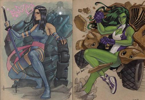 Psy And She Hulk