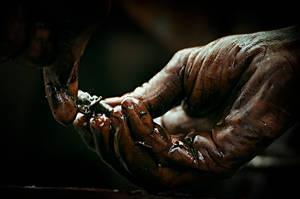 Hands in Gas by ertek