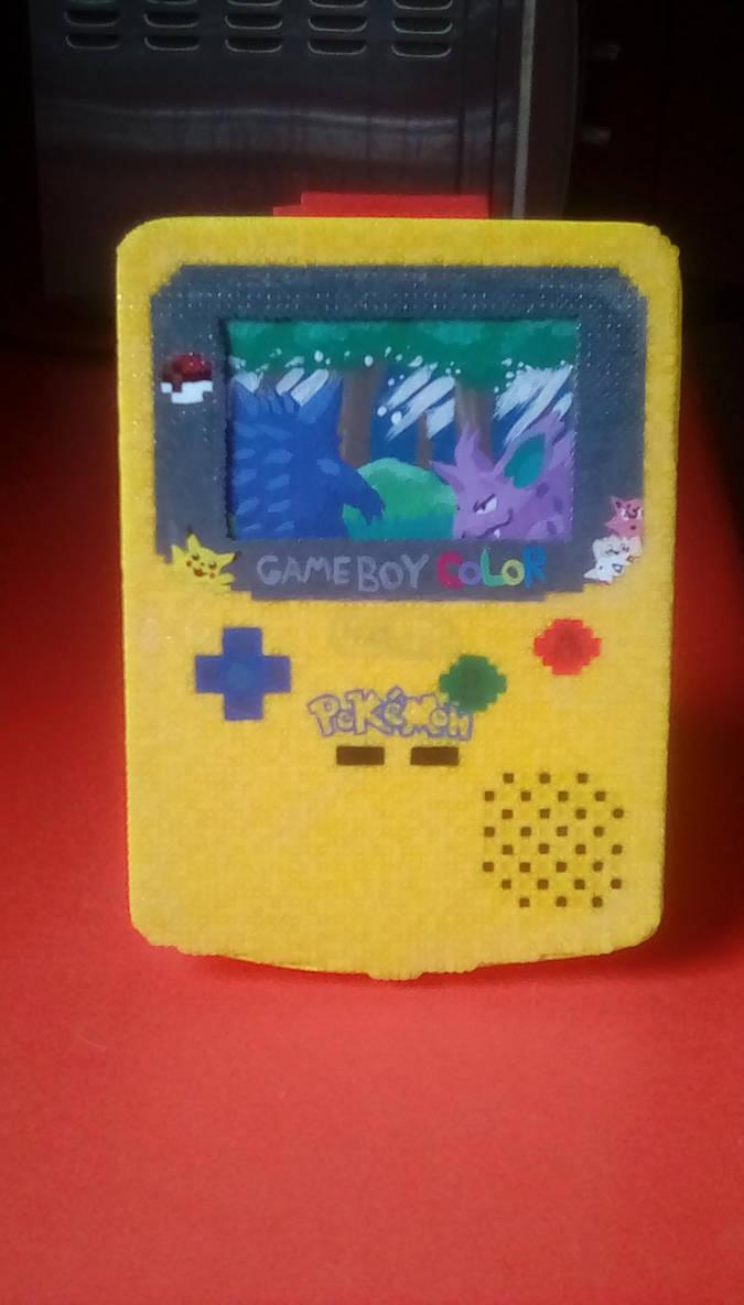 Gameboy Color Pokemon Art