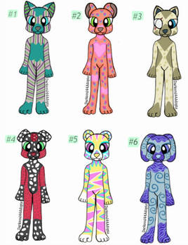 Furry Adoptables Auction (open)