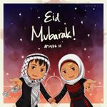 Sparkles Eid Mubarak by Chamomilliya