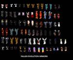 Fallen Evolution Armors