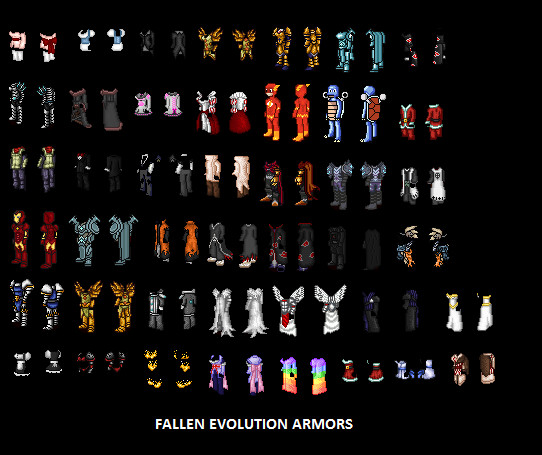 Fallen Evolution Armors by Fallen-Evolution