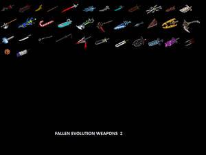 Fallen Evolution Weapons 2