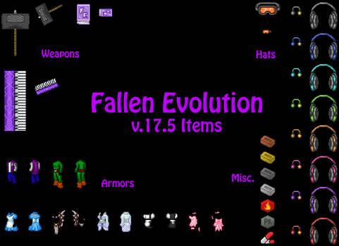 Fallen Evolution v.17.5 Items