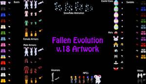 Fallen Evolution v.18 Artwork by Fallen-Evolution