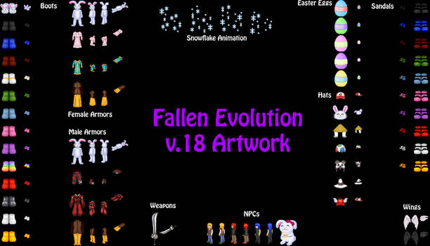 Fallen Evolution v.18 Artwork
