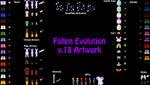 Fallen Evolution v.18 Artwork