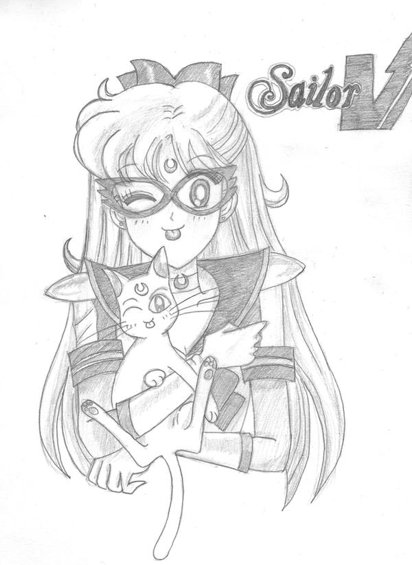 Codename Sailor V by Lucy-Phoenix1990