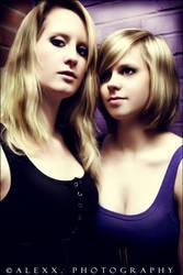 Kirsten and Birthe I by Alexxchen
