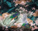 Kimono Fabric Texture