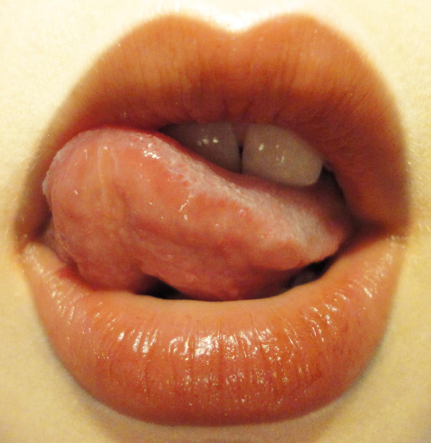 Lip Study: Tongue 2 by PeacefulSeraph