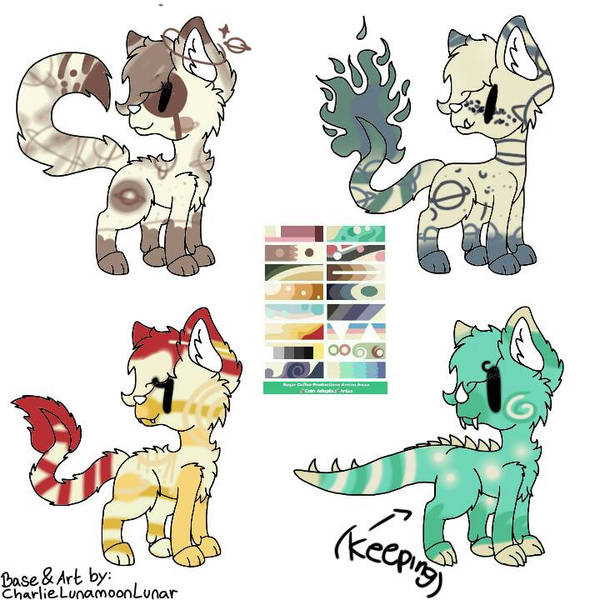Adopts! ( 3/3 ) by PurpleCottonOTAS