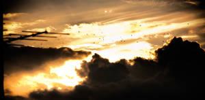 Into the golden sky III