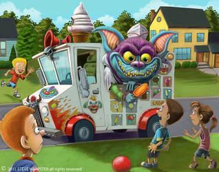 Ice Scream Monster by sharpie99