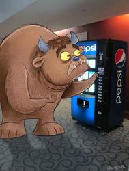 Vending Monster by sharpie99