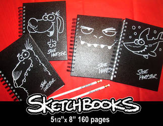 Sketchbooks for sale by sharpie99