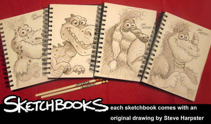 Order a Sketchbook by sharpie99