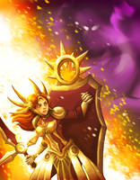 Solar Flare - Leona (League of Legends) by ROLN