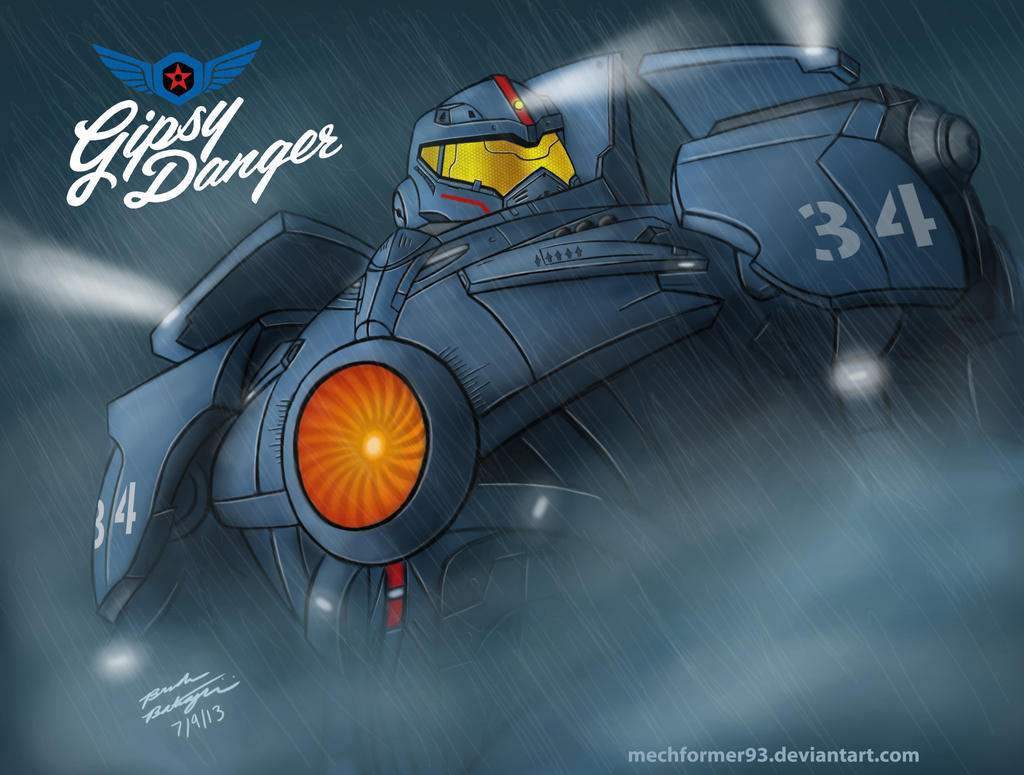 Pacific Rim: Gipsy Danger by Mechformer93