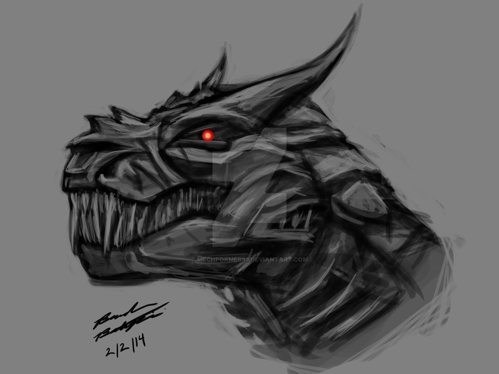 Transformers Age of Extinction Grimlock by Mechformer93 on DeviantArt