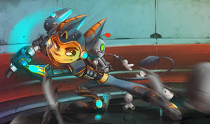 Cry Plays Ratchet and Clank