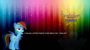 Rainbow Dash Wallpaper by KiyoshiKouta