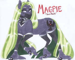 Magpie by MylittleRosie